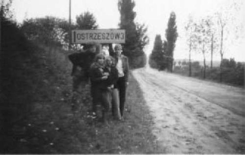 Pieszo do Ostrzeszowa, stare zdjęcia -