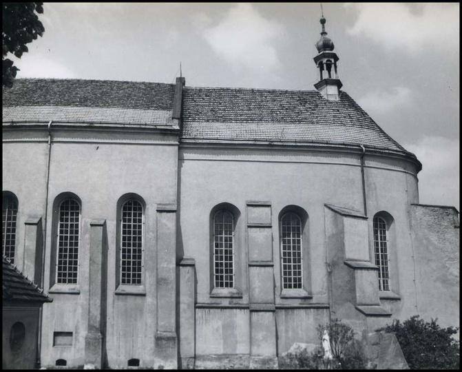 Klasztor, lata 60/70-te., stare zdjęcia -