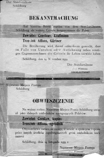 Bardzo ciekawy i przerażający dokument ze zbiorów Muzeum Regionalnego. Tym bardz..., stare zdjęcia -