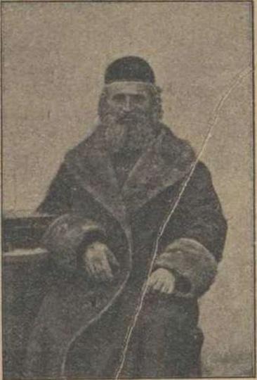 Ostrzeszowski rabin - Aron Bach, stare zdjęcia -