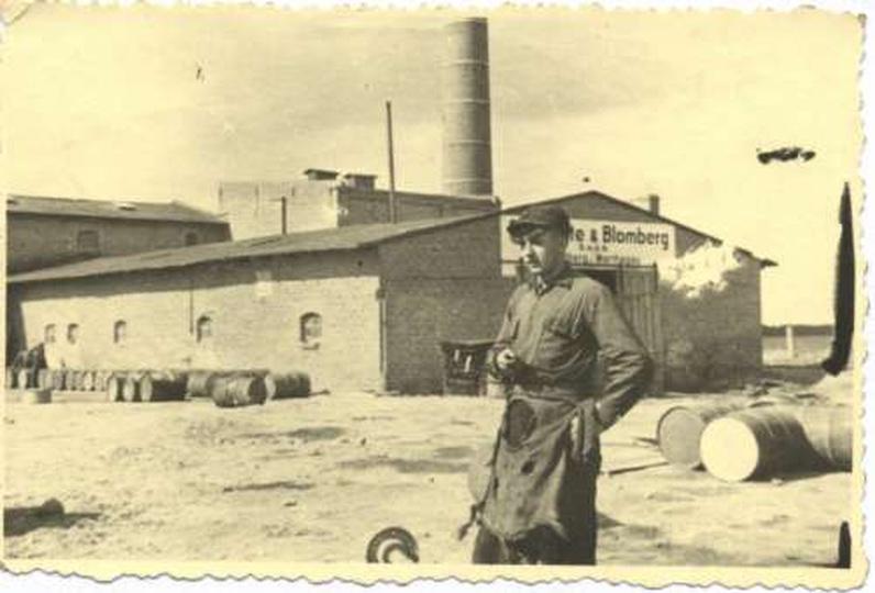 Fabryka Blomberga - dziś teren Spółdzielni Inwalidów, stare zdjęcia -