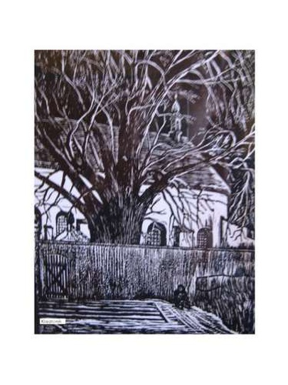 Stare zdjęcie z kategorii Ostrzeszów w malarstwie i sztuce -
