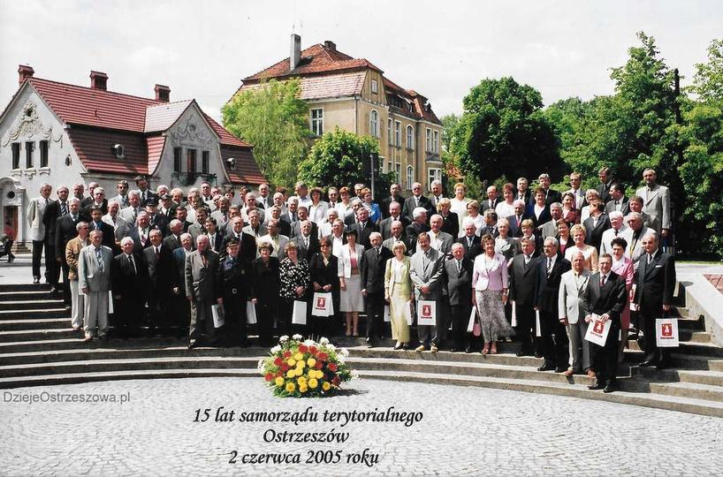 2 czerwca 2005 rok. 15-lecie samorządu terytorialnego w Ostrzeszowie. Ciekawe c..., stare zdjęcia -