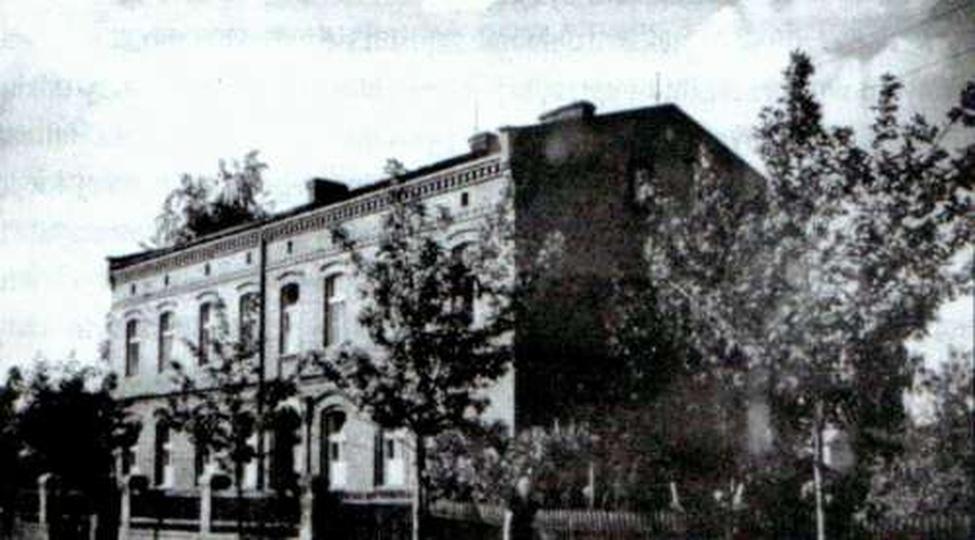 Szpital powiatowy 1896r., stare zdjęcia -