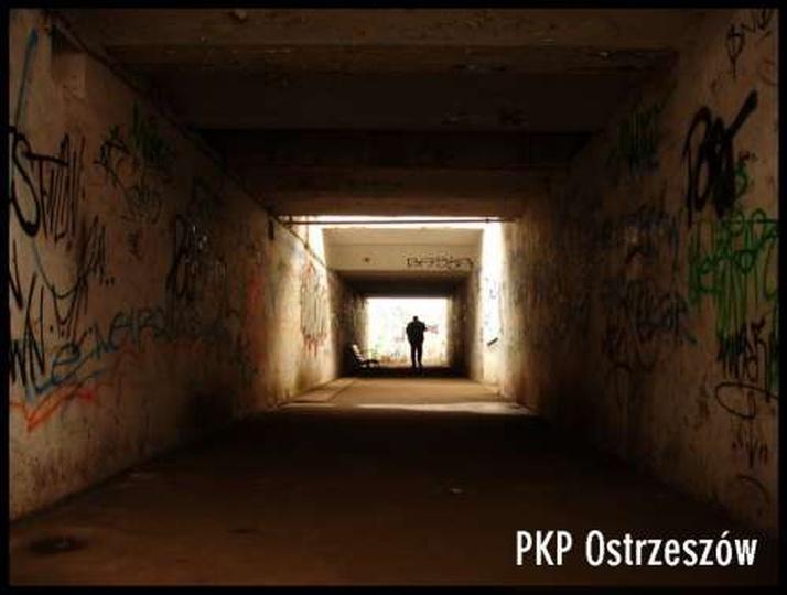 Podziemia ostrzeszowskiego PKP, stare zdjęcia -