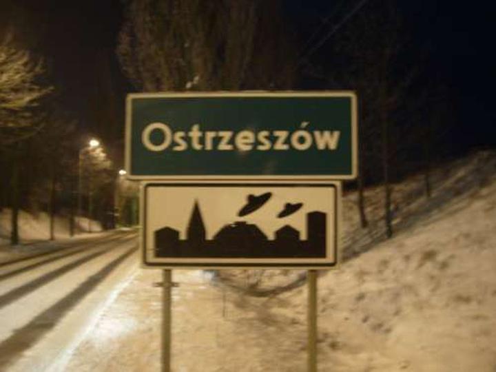 Wjazd do Ostrzeszowa od strony Mikstatu, stare zdjęcia -