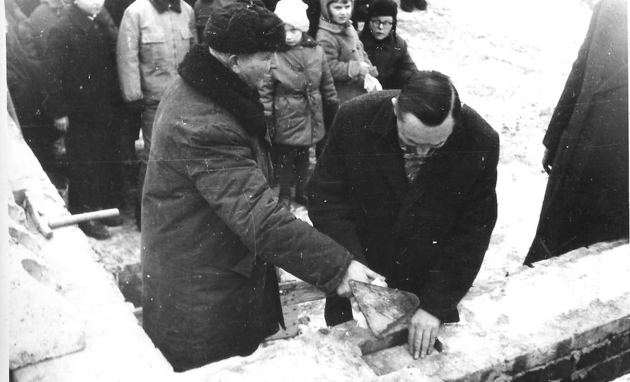 Osiedle M. Nowotki. W dniu 7 grudnia 1966 roku rozpoczęto budowę nowego przedsz..., stare zdjęcia -