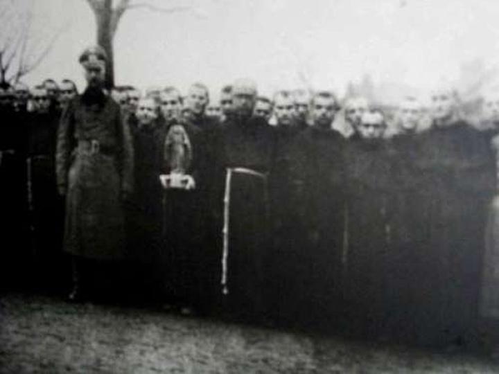 Św. M.M Kolbe w Ostrzeszowie, stare zdjęcia -
