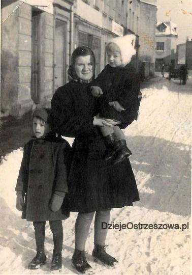 Rok 1946 lub 1947, Kolejowa albo już Armii Czerwonej, niestety nie jest nam znan..., stare zdjęcia -