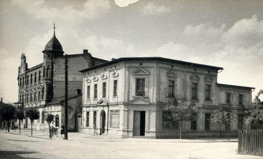 Ulica Kolejowa, lata 60/70 XX w., stare zdjęcia -