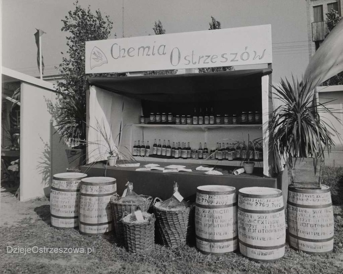 25 lat PRL. Powiatowa Wystawa Rolnicza w Ostrzeszowie. 14-16 IX 1969 rok. Wys..., stare zdjęcia -