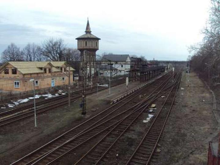 Dworzec PKP z perspektywy dyżurnego ruchu, stare zdjęcia -
