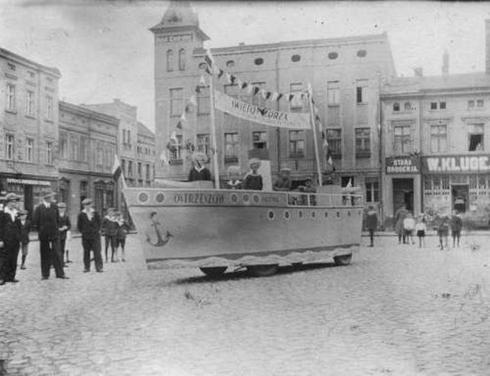 Obchody święta Morza 1932r., stare zdjęcia -
