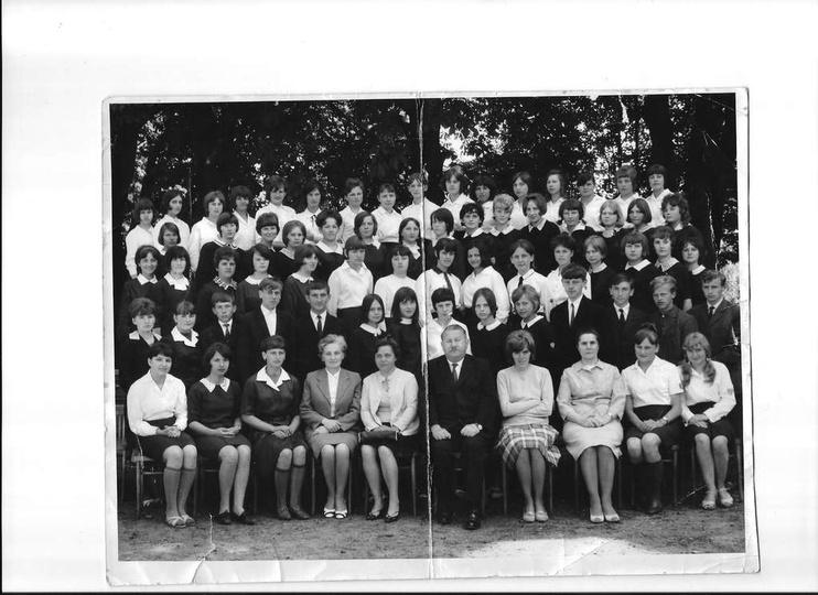 Rok 1967 -  Szkoła Rolnicza w Ostrzeszowie. Kierownik Szkoły Adam Ogrodowicz., stare zdjęcia -