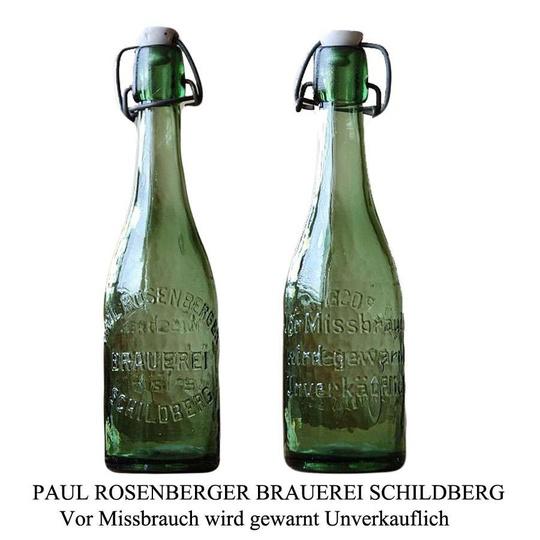 Paul Rosenberger Brauerei Schildberg. Zdjęcie otrzymane od Andrzeja Czarneckieg... -