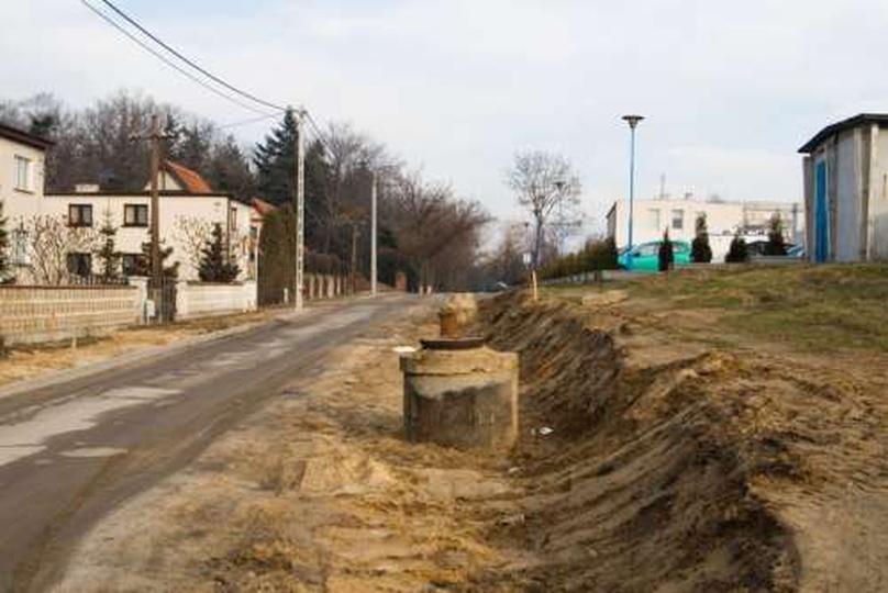 Al. Wolności przed remontem - 26 stycznia 2009, stare zdjęcia -
