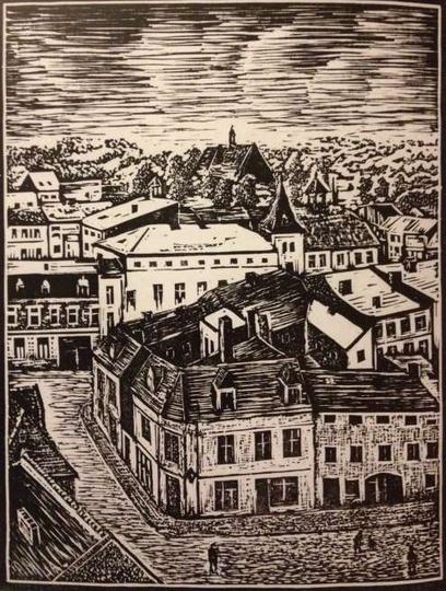 Ostrzeszów, Stare Miasto. Edward Haladyn, stare zdjęcia -
