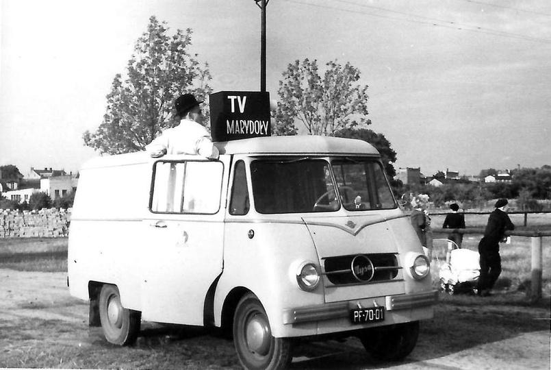 Boisko przy gazowni, lata 60-te. Niestety nic nie wiadomo na temat tego zdjęcia,..., stare zdjęcia -