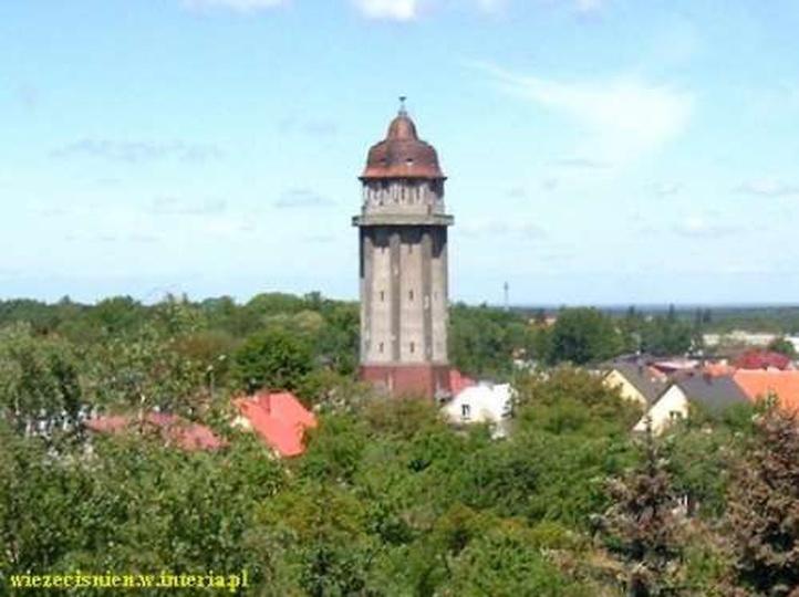 Wieża cisnień (przed remontem), stare zdjęcia -
