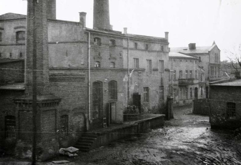 Browar państwa Śliwińskich przy ulicy Chmielnej, rok ok 1960. Po wojnie do połow..., stare zdjęcia -