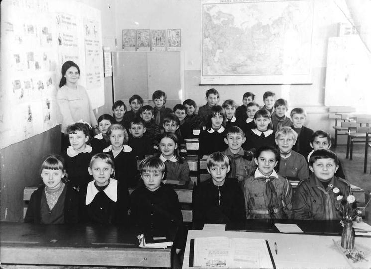 Szkoła Podstawowa nr 1, klasa rocznik 1961, wychowawczyni pani Helena Bagniewska..., stare zdjęcia -
