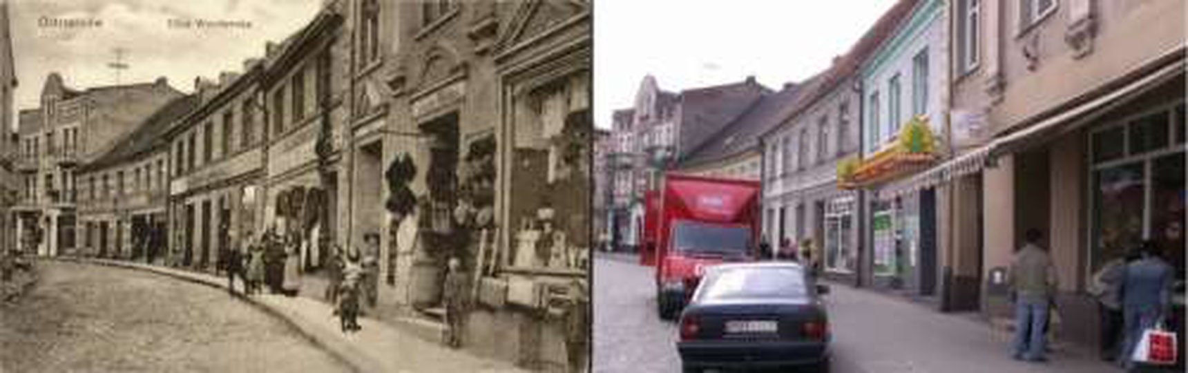 Ulica Wrocławska - teraz Sikorskiego, stare zdjęcia -