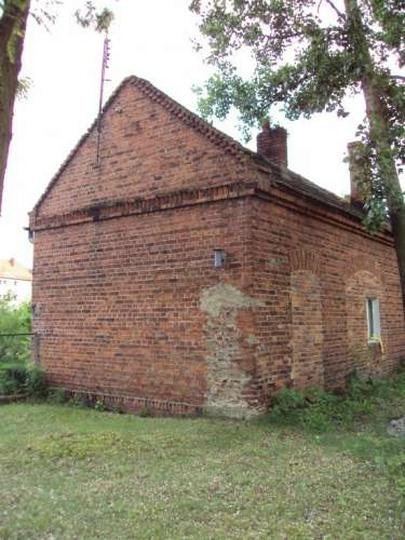 Dom przedpogrzebowy na cmentarzu żydowskim, stare zdjęcia -