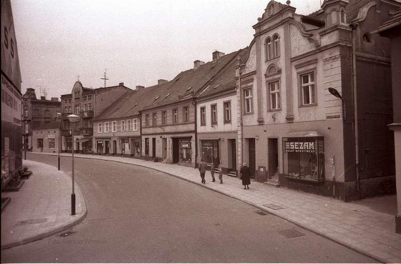 Listopad 1991 rok. Ulica Sikorskiego w czasie burzliwych przemian gospodarczych...., stare zdjęcia -