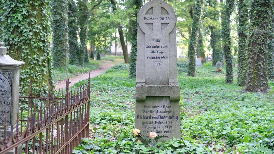 Starosta Ostrzeszowski Richard von Doemming  1884 do 1891 Starosta w Adenau [..., stare zdjęcia -