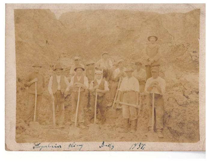 foto z kopalni budy , stare zdjęcia -