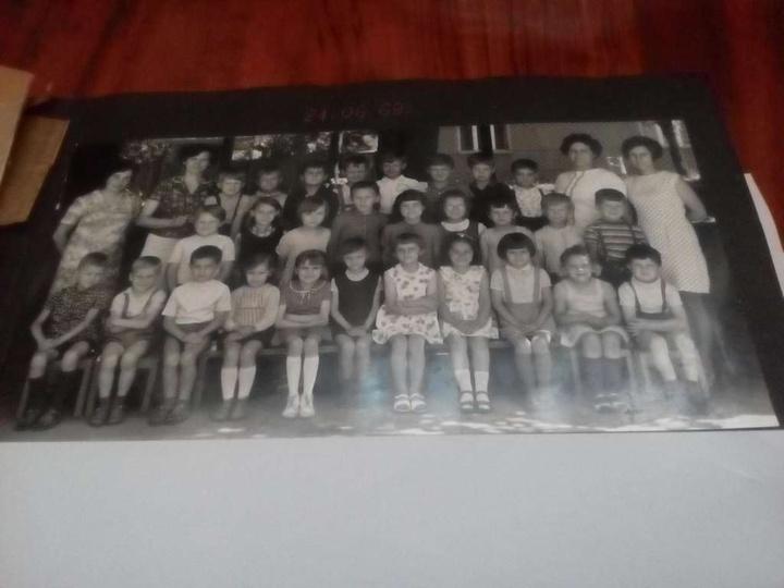 1969 rok zakończenie okresu przedszkolnego. Czy ktoś jeszcze pamięta jak w przed..., stare zdjęcia -