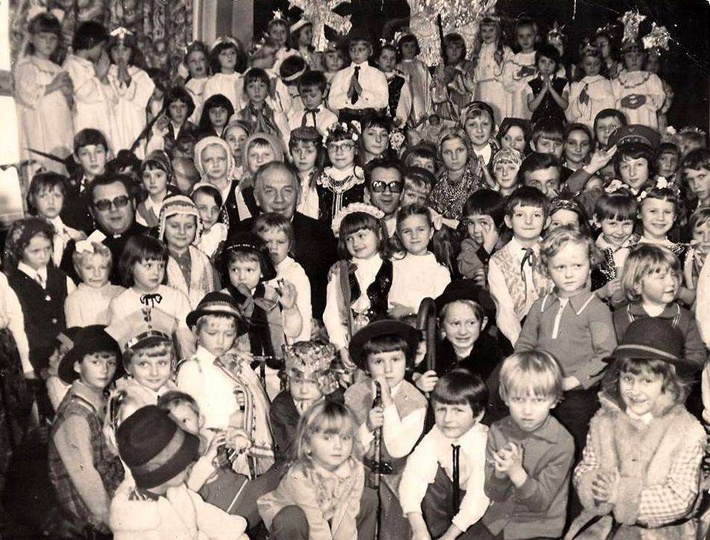 Jasełka rok 1976., stare zdjęcia -