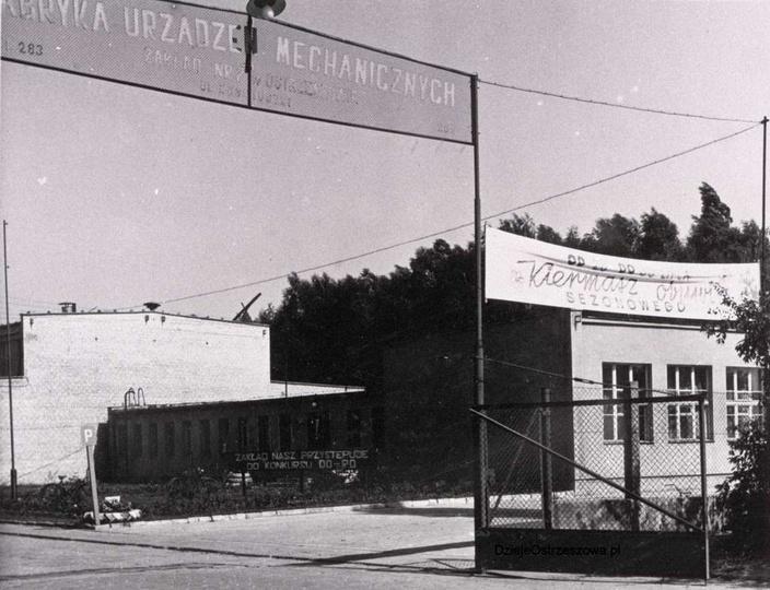 Początek lat siedemdziesiątych, Fabryka Urządzeń Mechanicznych  Zakład Nr 2 w Os..., stare zdjęcia -