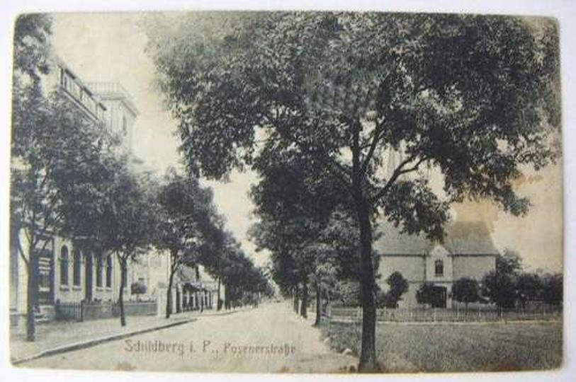 ul. Poznańska (dzisiaj Zamkowa), stare zdjęcia -