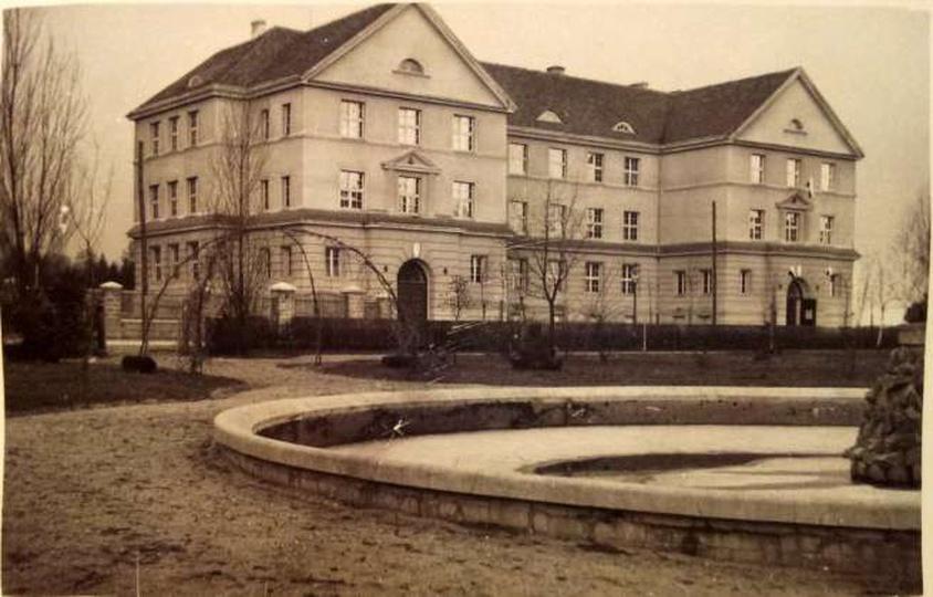 Publiczna Szkoła Dokształcająca Zawodowo. 16.02.1938, stare zdjęcia -