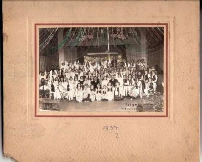 Jasełka w 1917r., stare zdjęcia -