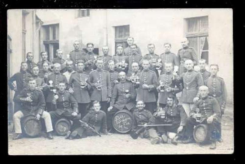 Wojska niemieckie w Ostrzeszowie, stare zdjęcia -