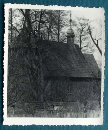 Kościółek św.Mikołaja, stare zdjęcia -
