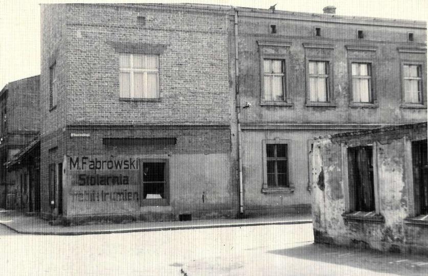 Lata 60-te, ulica Daszyńskiego (dawna Ogrodowa), widok od Borku. W miejscu gdzie..., stare zdjęcia -