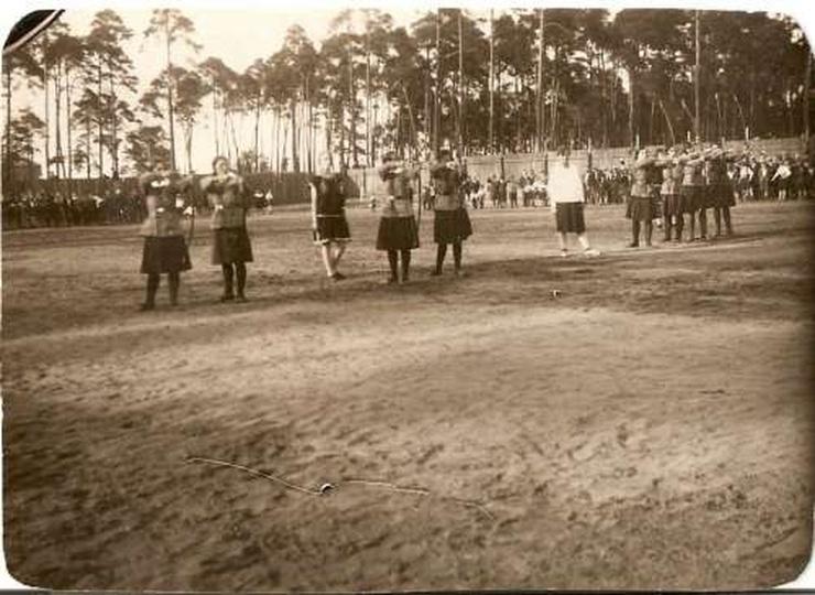 Zawody Przysposobienia Wojskowego Kobiet, stare zdjęcia -
