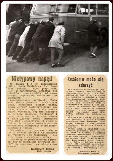 W dniach 9-10 października 1965 roku, Rada Zakładowa urządziła wycieczkę dla czł..., stare zdjęcia -