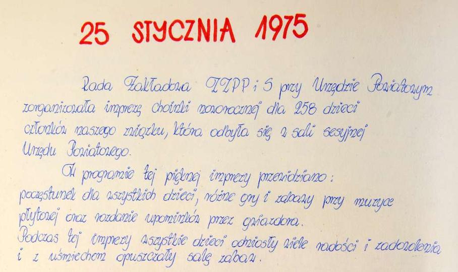 Z kroniki Związku Zawodowego Pracowników Państwowych i Społecznych., stare zdjęcia -