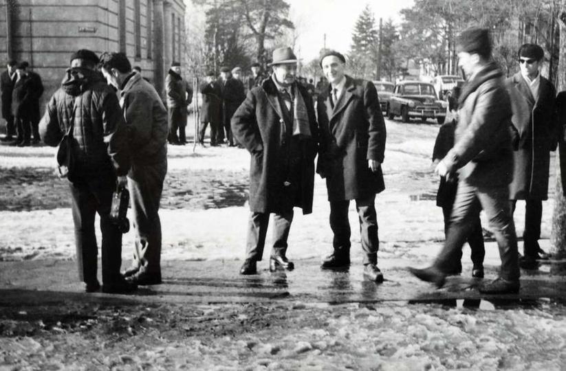 13 marca 1965 roku, odbył się pierwszy ostrzeszowski cross. Start i meta znajdow..., stare zdjęcia -