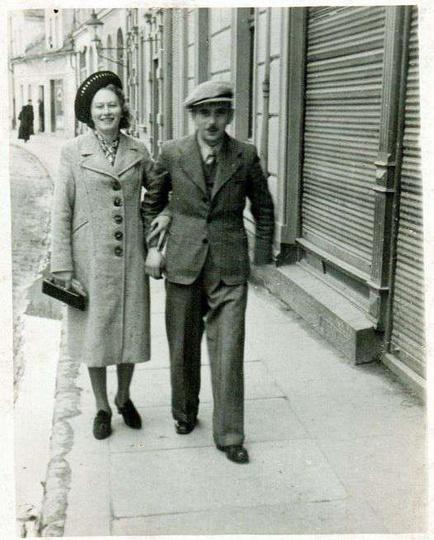 ul. Sikorskiego. Wiosna 1939 roku., stare zdjęcia -