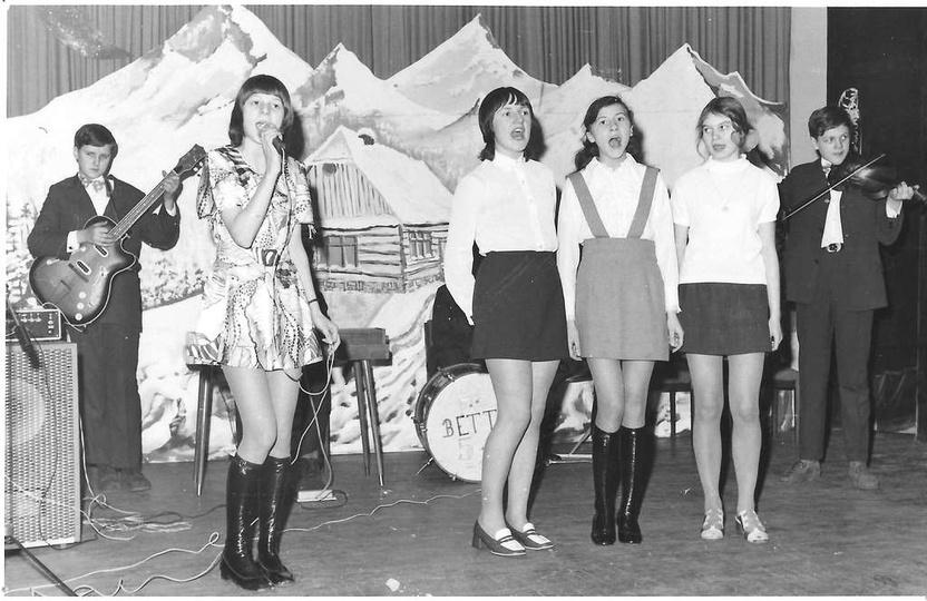 3 luty 1973 rok, impreza choinki noworocznej dla dzieci pracowników Prezydiów ..., stare zdjęcia -