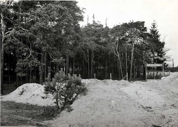1969 rok, zbieg ulicy Piastowskiej i Cichej. Ośrodek Sportów Obronnych Ligi Obro..., stare zdjęcia -
